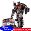 AOYI Action Figure Toys G1 Siege Alloy Nemesis Prime Truck Dormant Version Deformation Transformation