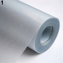 1 Roll Frosted Privacy Frost Office Home Bedroom Bathroom Glass Window Waterproof Film Sticker
