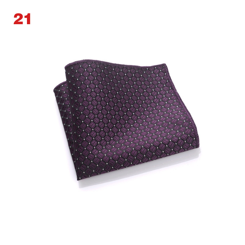 Newly Vintage Men British Design Floral Print Pocket Square Handkerchief Chest Towel Suit Accessories CTN88