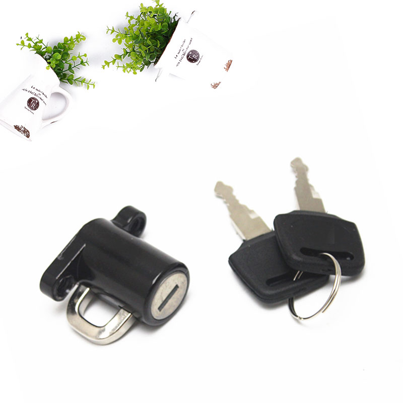 Motorcycle Helmet Lock Accessories Universal Parts Autocycle Helmet Locks