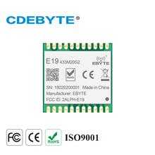 Ebyte E19-433M20S2 SX1278 LoRa 433dBm 20dBm 100mW IoT daleki zasięg SPI moduł rf Sub 1GHz mały rozmiar LoRaTM bezprzewodowy nadajnik odbiornik tanie tanio CDEBYTE