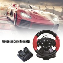 Racing-Game-Controller Vibration Steering-Wheel Gaming Pedal for PC-DINPUT/X-INPUT 4-In-1