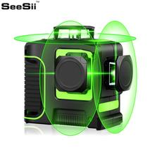Green Laser Level 12 Lines 3D Self-Leveling 360 Horizontal And Vertical Cross Super Powerful