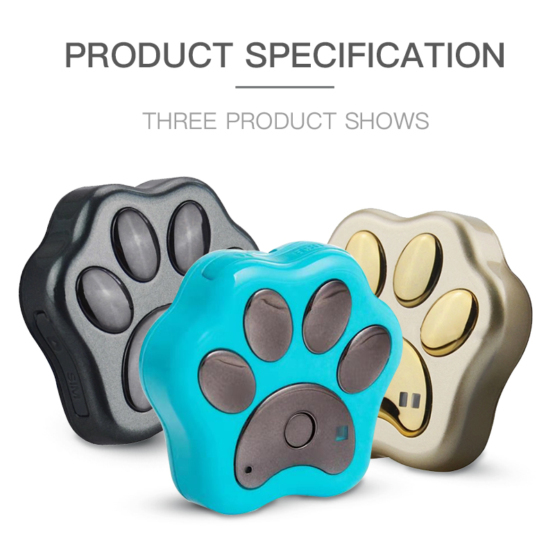 Dog Gps Tracker Pet Anti-Lost Waterproof Wifi Smart Tracer Detector Cat Collar With Tracker
