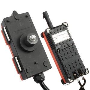Image 3 - Industrial remote controller 12V 24V 36V 220V 380V 2 transmitter + 1 receiver wireless electric hoist F21 E1B
