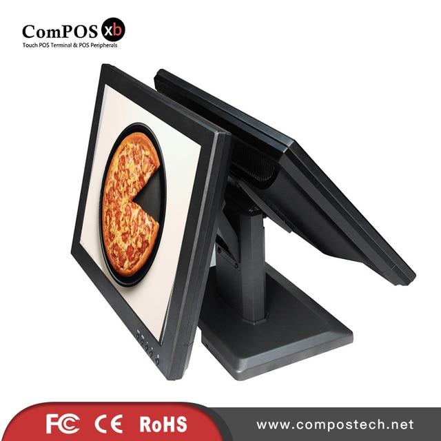 Moniteur tactile double écran pour Restaurant, affichage du système de point de vente TM1501D 2