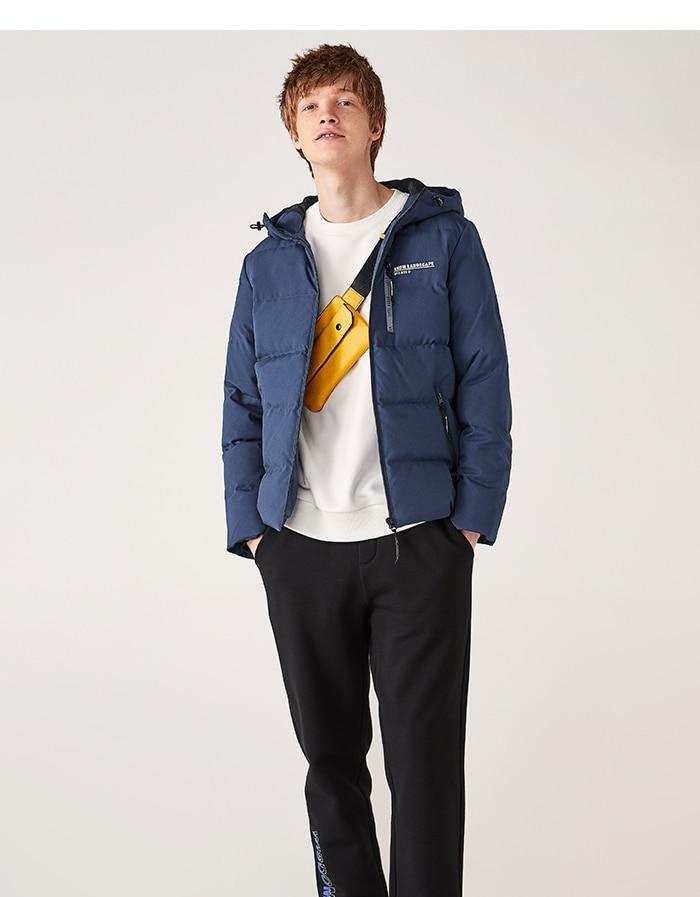 H68b1e50dd85b41f8b59448b9ca516958R Printed hooded warm jacket