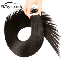 Weft-Machine Extensions Hair-Skin Adhesive Remy-Tape Human Natural Indian Blonde 20/40/80pcs