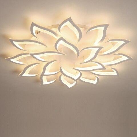 led lustre moderno lustres de teto iluminacao para sala estar quarto cozinha com controle remoto
