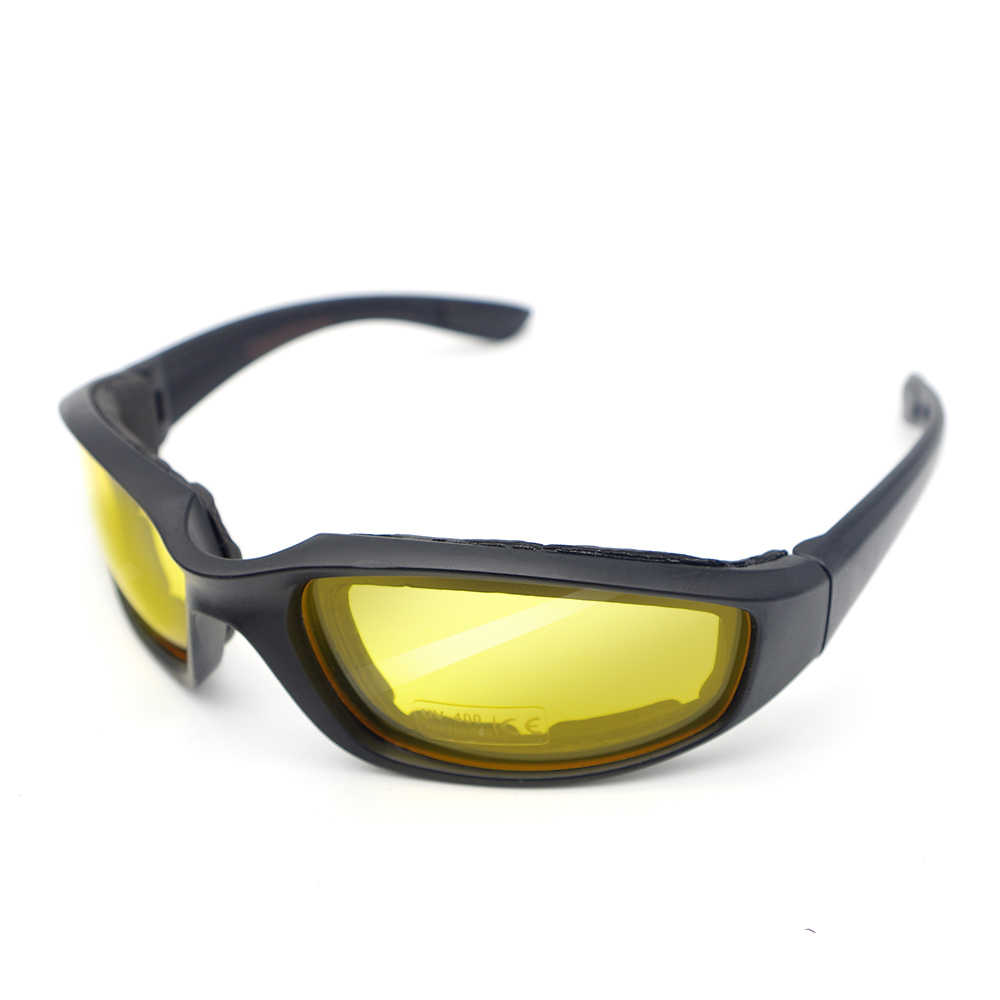 รถจักรยานยนต์แว่นตาสีดำกรอบแว่นตา Polarized สำหรับ KAWASAKI z650 zx9r ZX6R 2006 Vulcan 1500 636 zzr 400 ER6F vn800 Vulcan 900