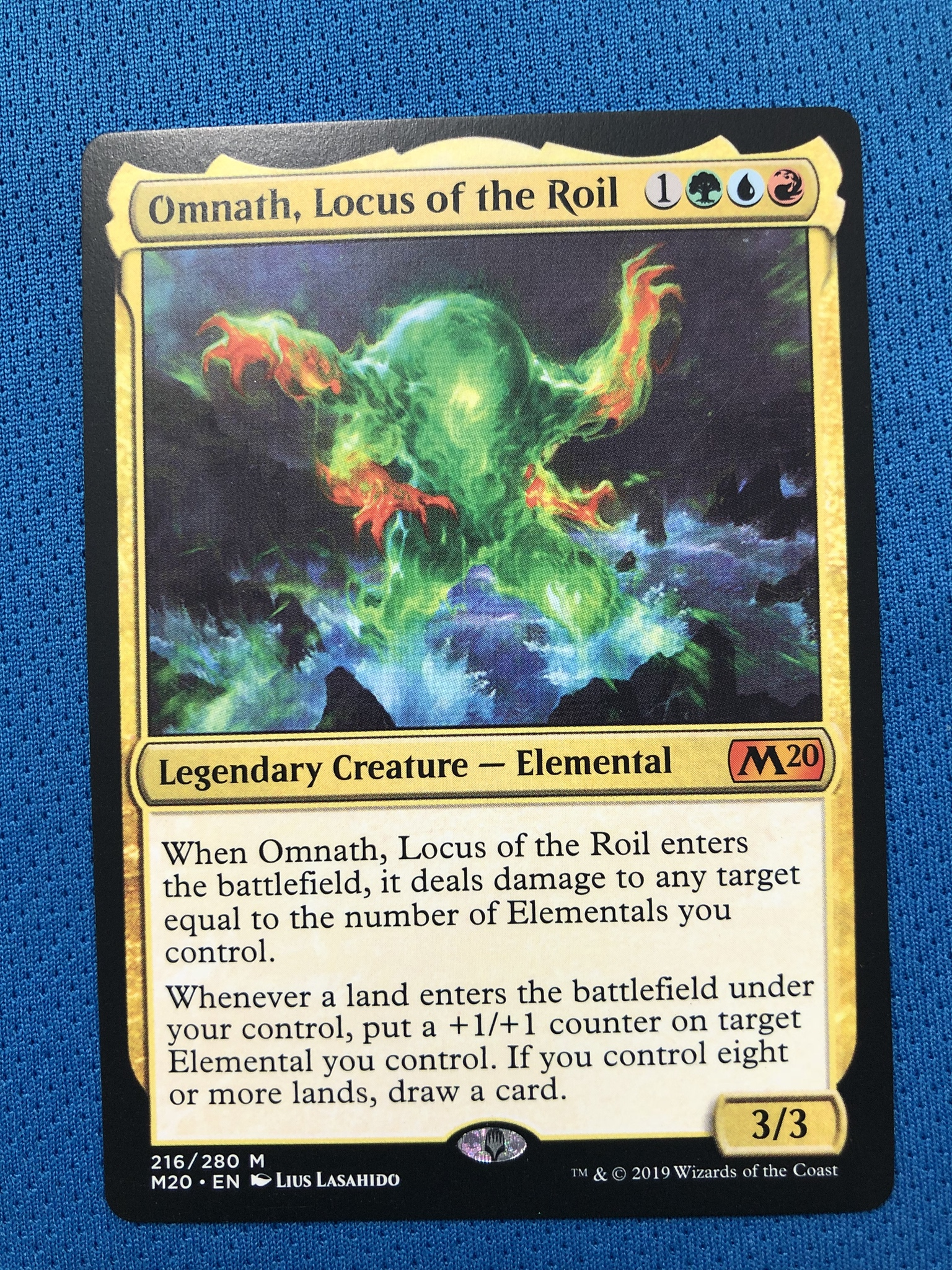 Omnath, Locus Of The Roil	M20 Hologram Magician ProxyKing 8.0 VIP The Proxy Cards To Gathering Every Single Mg Card.