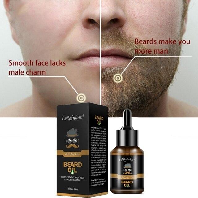 Top 30ml Pro Men Beard Growth Enhancer Liquid Facial Nutrition Moustache Grow Beard Shaping Tool Beard Oil 4