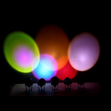 2021 Zonsondergang Ambient Lampen Kleurrijke Kamer Muur Projectie Achtergrond Licht Led Lampen Slaapkamer Sfeer Licht Dropship