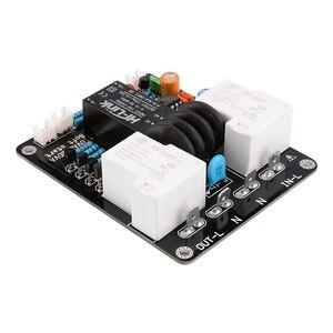 Image 2 - AIYIMA 2000W High Power Soft Start Board 30A Dual Temperatuur Schakelaar Vertraagde Start Board Voor Versterker Amp DIY