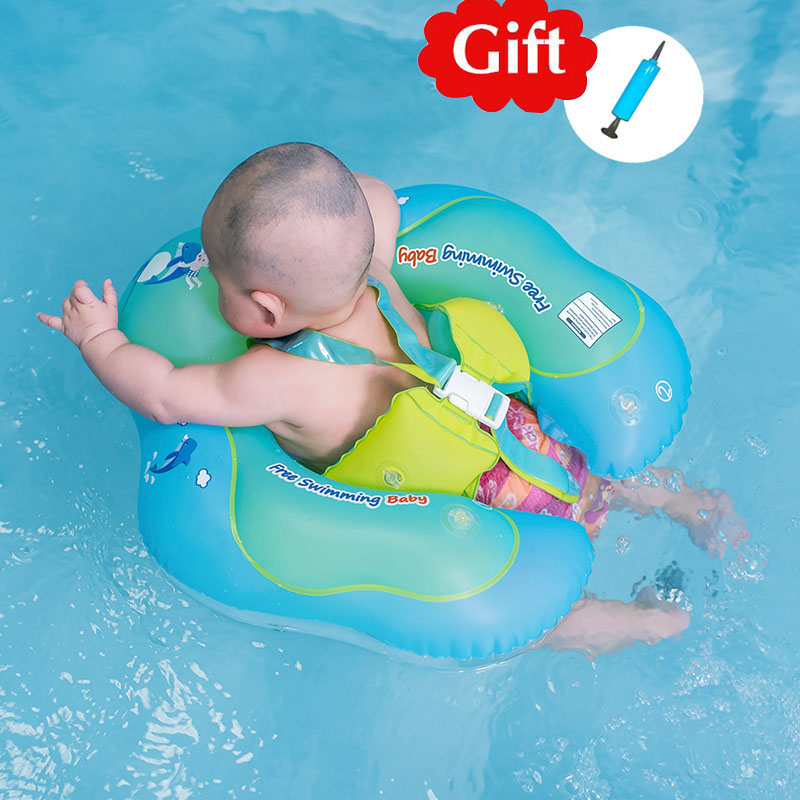 Kids Inflatable Swimming Ring Baby Float Swimtrainer Pool Inflatable Buoy Pool Accessories For Newborn Safety Swimming Circle