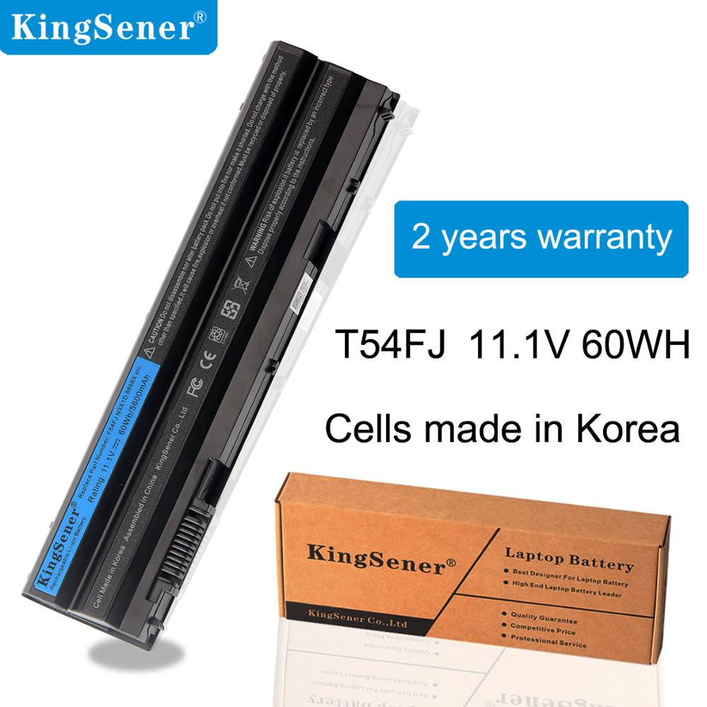 KingSener T54FJ 60Wh New Laptop Battery for DELL Latitude <font><b>E5420</b></font> E5430 E5520 E5530 E6420 E6430 E6520 E6530 For Inspiron 7420 7520 image