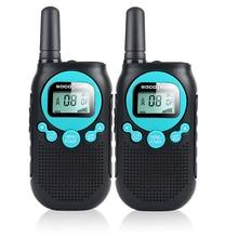 SOCOTRAN SC R40 الطفل اسلكية تخاطب 2 قطعة PMR446 رخصة حرة راديو 8CH اتجاهين راديو amador الخصوصية رمز بطارية قابلة للشحن