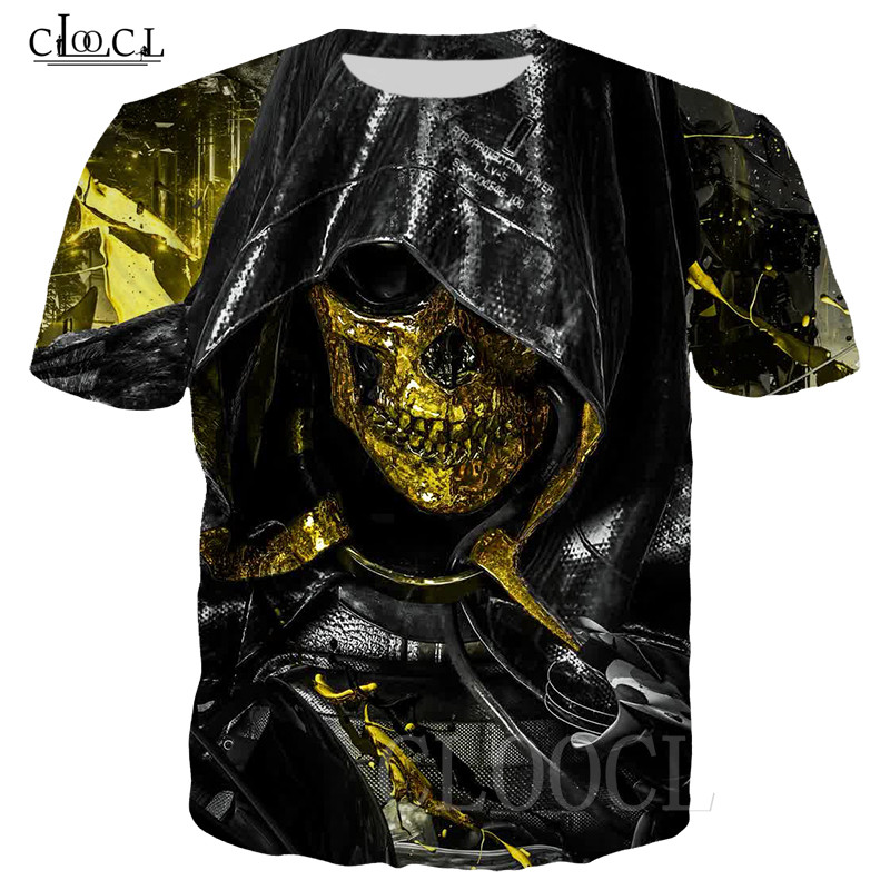 Death Stranding Game Tshirt Men Women Casual Fashion Plus Size Streetwear Summer Tees Tops 3D Print Gold Mask T Shirt Sweatshirt