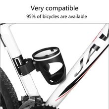 Bicycle Black Lightweight Water Bottle Cage Holder NEW Cup Rack Riding Supplies