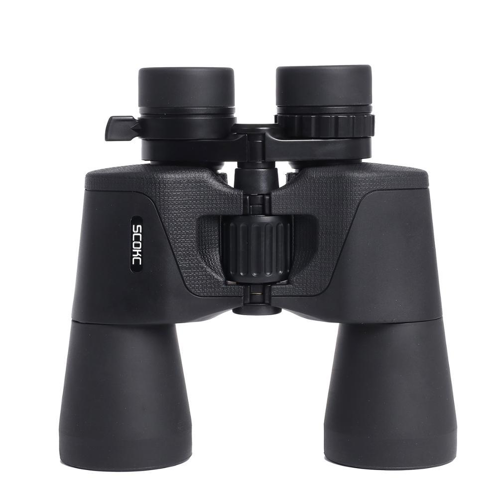 SCOKC 8-21X50 10x50 20x50 High Magnification HD Professional Zoom Powerful Binoculars for HuntingTelescope Monocular