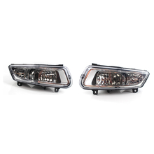 2pcs Left/Right LED DRL For VW Polos 6R 2010 2011 2012 2013 2014 Front Bumper 8 LED Fog Daytime Running Lights цена 2017