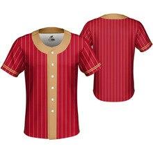 цены 2019 New Baseball Shirt Jerseys Men Sublimation Customized Name Number Jersey Baseball Chemise Baseball Homme