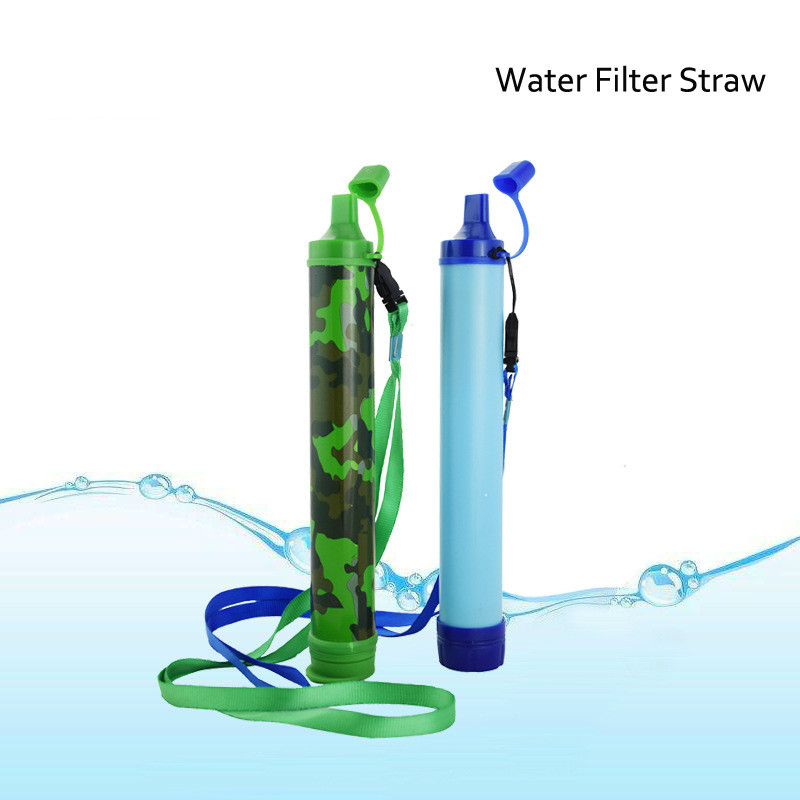 Field Life Emergency Direct Drinking Sterilization Soldier Water Purifier Wild Drinking Portable Filter Pipette