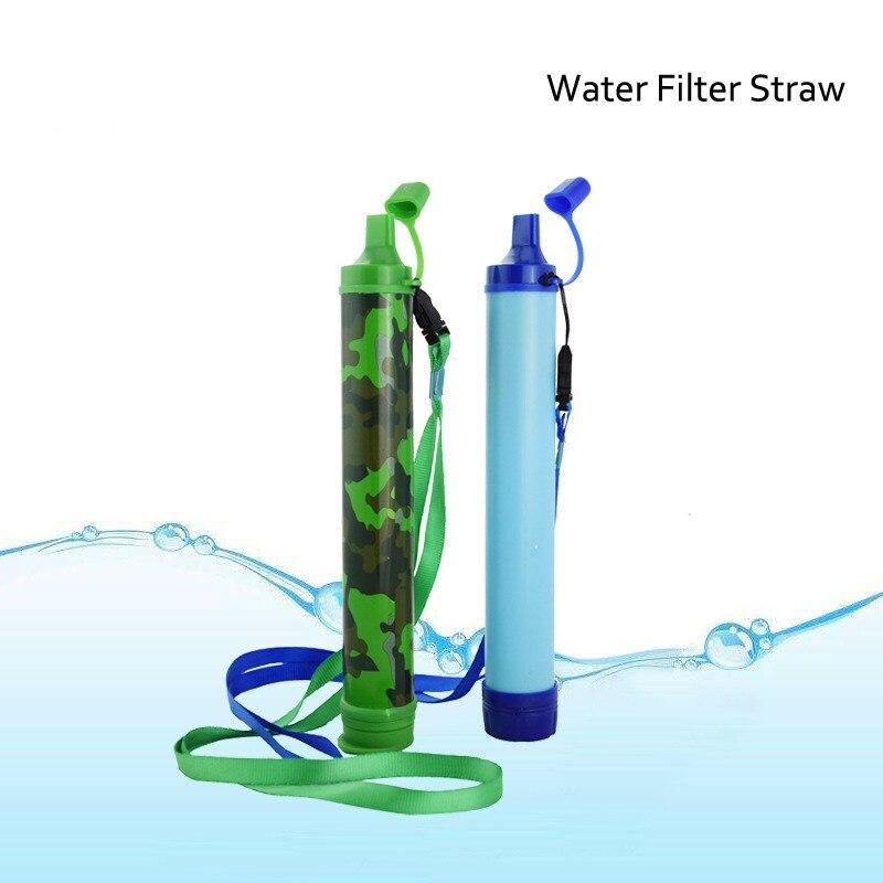 Field Life Emergency Direct Drinking Sterilization Soldier Water Purifier Wild Drinking Portable Filter Pipette