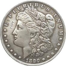 1890-S сша Морган долларовые монеты КОПИЯ