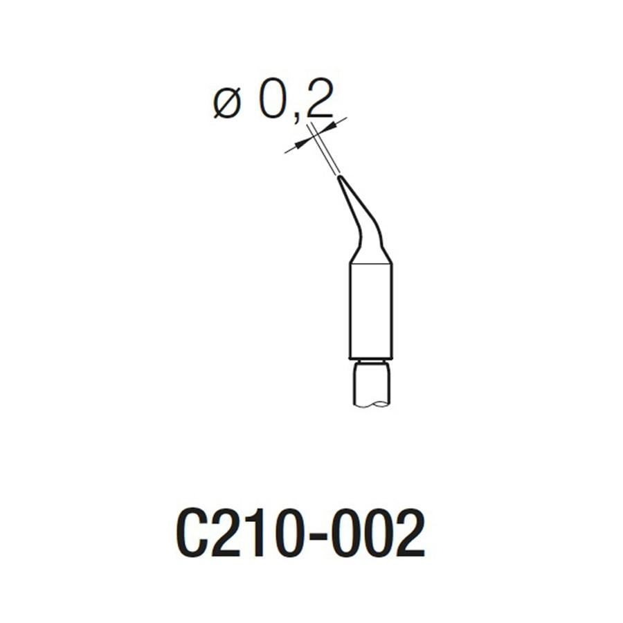 3Pcs Original JBC C210-020 C210-002 C210-018 soldering tips for T210-A soldering pen and CD-2SE soldering Station 6