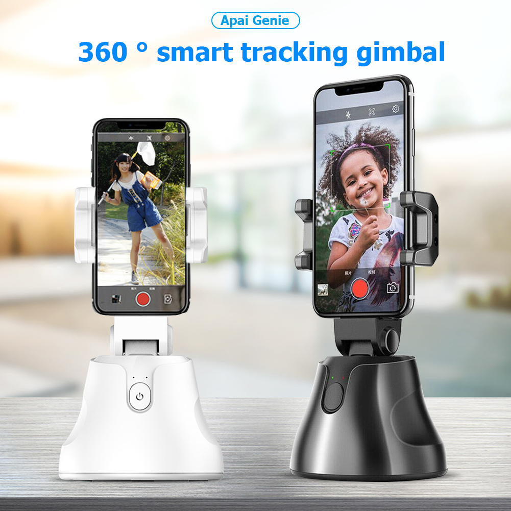 Portable All-in-one Auto Smart Mobile Phone Stand 360 Rotation Auto Face Tracking Object Tracking Vlog Camera Phone Holder