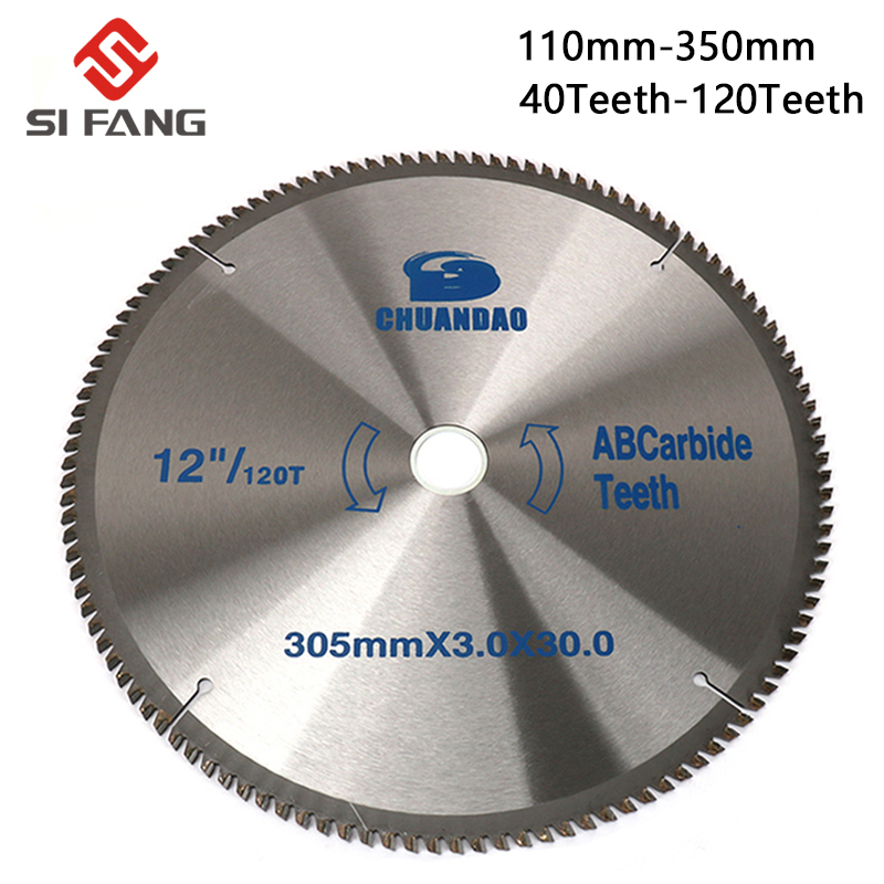 110mm/150mm/180mm/200mm/250mm/300mm/350mm Circular Saw Blade Wood Cuting Disc Alloy Cutting Disc For Wood And Aluminum