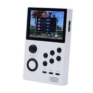 A19 Pandora's Box Android Supretro Handheld Retro Game Console IPS Sn Built-In 3000+Games 30 3D Games White