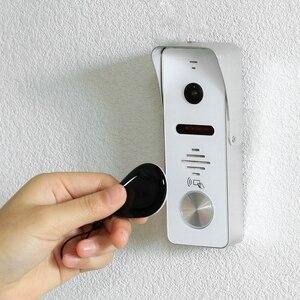 Image 5 - Видеодомофон HomeFong для дома, Домашний домофон с 7 дюймовым монитором, 1200TVL, проводная камера Deurbel