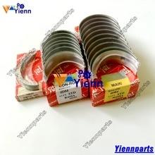 Yanmar 4TNV88 4TNE88 4D88 크랭크 축 베어링 Conrod 베어링 굴삭기 포크 리프트 엔진 수리 부품 용 스러스트 와셔