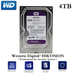 HDD Professional for CCTV 4TB/6TB/1TB 3.5 Inch SATA Interface Hard Disk for AHD DVR NVR CCTV Security System Free Shipping