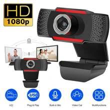 Веб камера 480/720/1080p usb 20 с микрофоном для windows 2000/xp/7/8/10/vista
