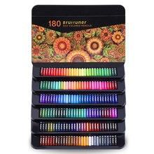 Цветные карандаши профессиональный набор из 180 цветов мягкие