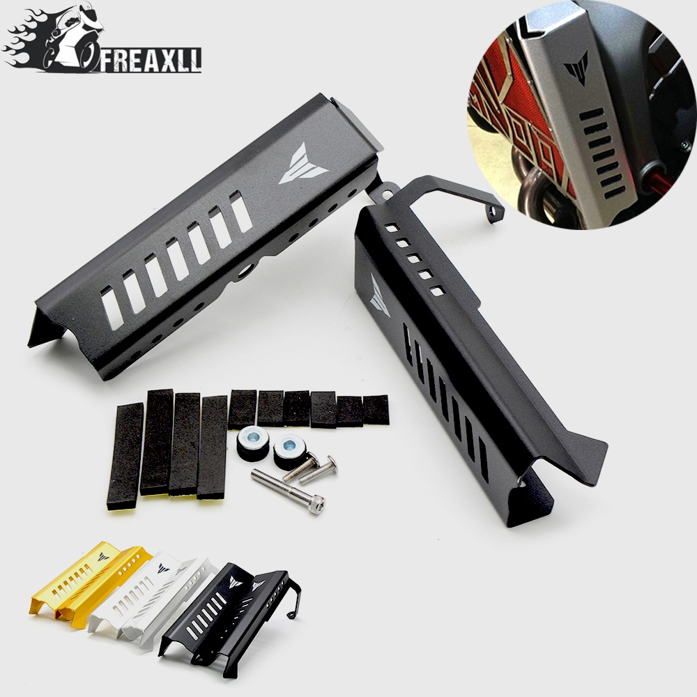 Motorcycle Radiator Side Protective Cover Grill Guard For Yamaha MT09 MT-09 MT FZ 09 FZ09 FZ-09 2014 2015