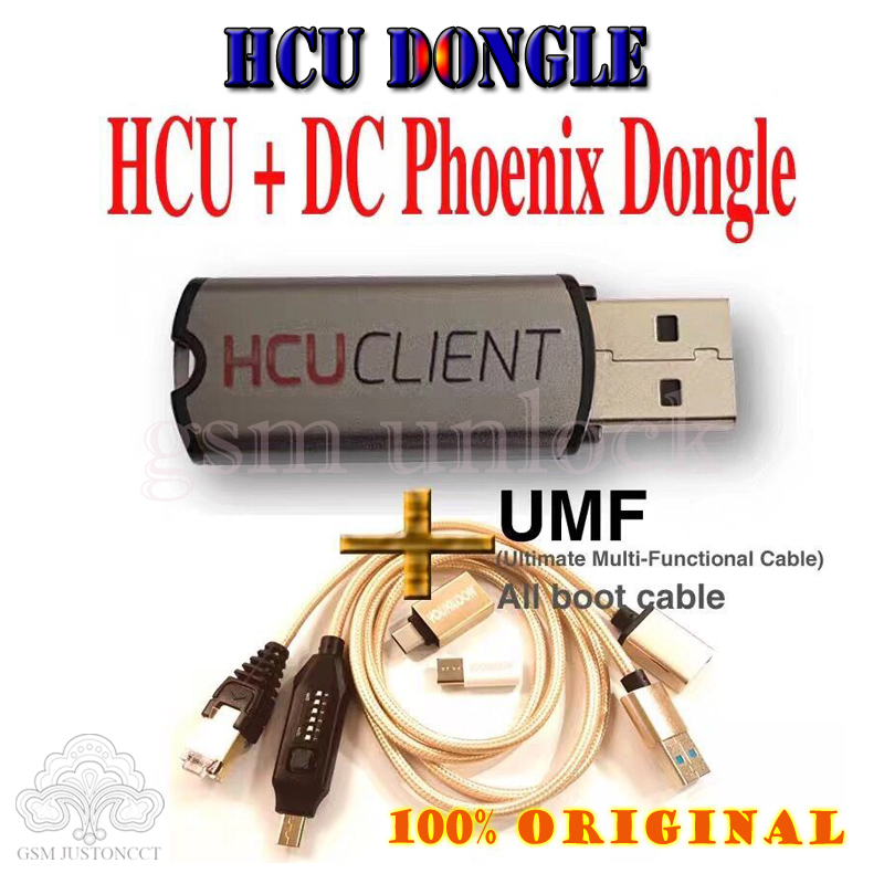 Z3x Pro Set 2020 Newest HCU Dongle + DC Phoenix Phone Converter For Huawei+umf Cable
