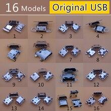 16 מודלים מקורי מחבר 5pin 7pin 5P 7P מיקרו Usb יציאת מיני כוח שקע עבור סמסונג Lenovo Sony huawei נייד טלפון Tablet