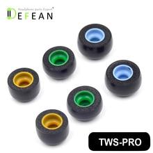 Defean TWS Pro Speicher Schaum Ohr Knospen Tipps für Sennheiser Dynamik Wahre Drahtlose Ohrhörer, Kreative Ausreißer Luft, xiaomi AirDots