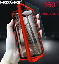 360 Full Cover Cases Funda For Xiaomi Redmi Note 7 Pro 6 4X Red Mi 7pro 5 Plus S2 4 X 6A 7A 5Plus K20 GO Protective Bumper Glass(China)