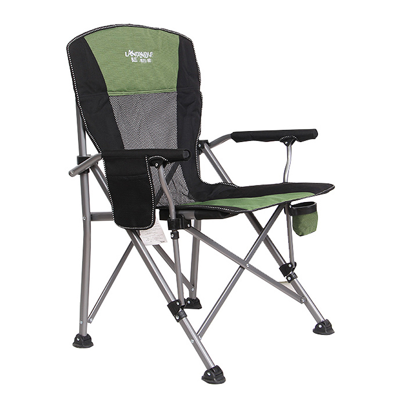 Outdoor fishing chair folding lounge chair camping picnic stool beach chair кресло для рыбалки easy carry load-bearing 150 kg