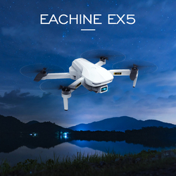 Eachine EX5 RC Quadcopter Mini Drone 4K Profesional 5G 4K HD GPS 1000m/200m FPV Camera Foldable Remote Control Racing Dron Toys
