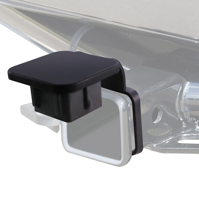 2 Inch AUTO Trailer Hitch Tube Cover,Rubber Trailer Receiver Plug Cap For Toyota Mercedes Mopar Audi F150 Ford GMC Truck Chevy J