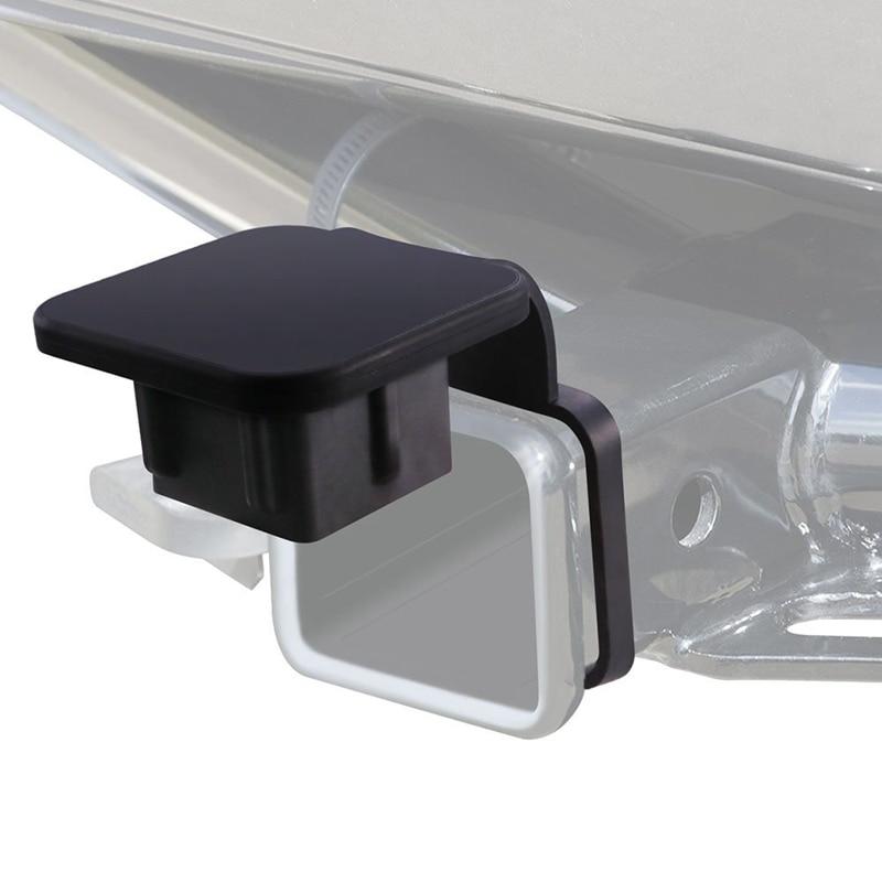 2 Inch AUTO Trailer Hitch Tube Cover,Rubber Trailer Receiver Plug Cap For Toyota Mercedes Mopar Audi F150 Ford GMC Truck Chevy J