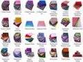 Полный набор всех образцов для всех 27 типов листов, 98 мм x 98 мм-338 шт. в общей сложности