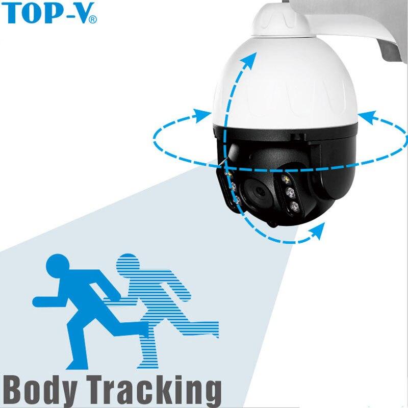 TOP-V камера видеонаблюдения, солнечная панель, перезаряжаемая батарея 1080 P, Full HD, для улицы, для помещений, безопасность, WiFi, ip-камера, широкий