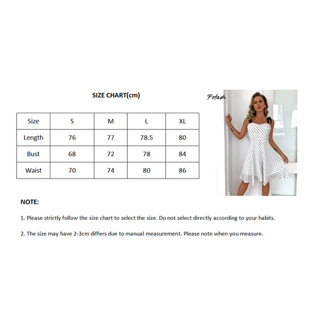 Pofash White Dot Summer Dress Women Bow Black Spaghetti Strap Sexy Backless Mini Dresses Female Ruffle Streetwear Vestidos 2021 5